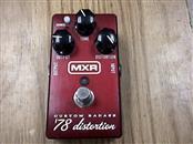 MXR Effect Equipment CUSTOM BADASS 78 DISTORTION